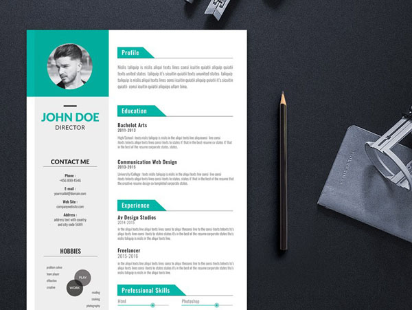 50 Free Illustrator Resume Templates for Job Seeker ...