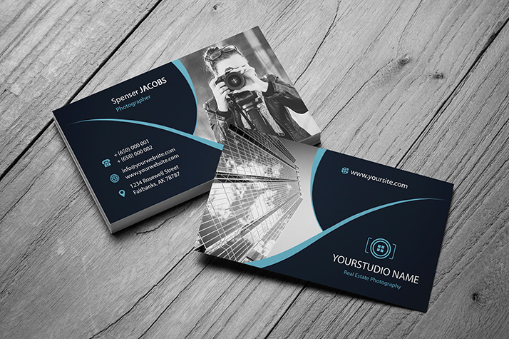 10 Free Photography Business Cards
