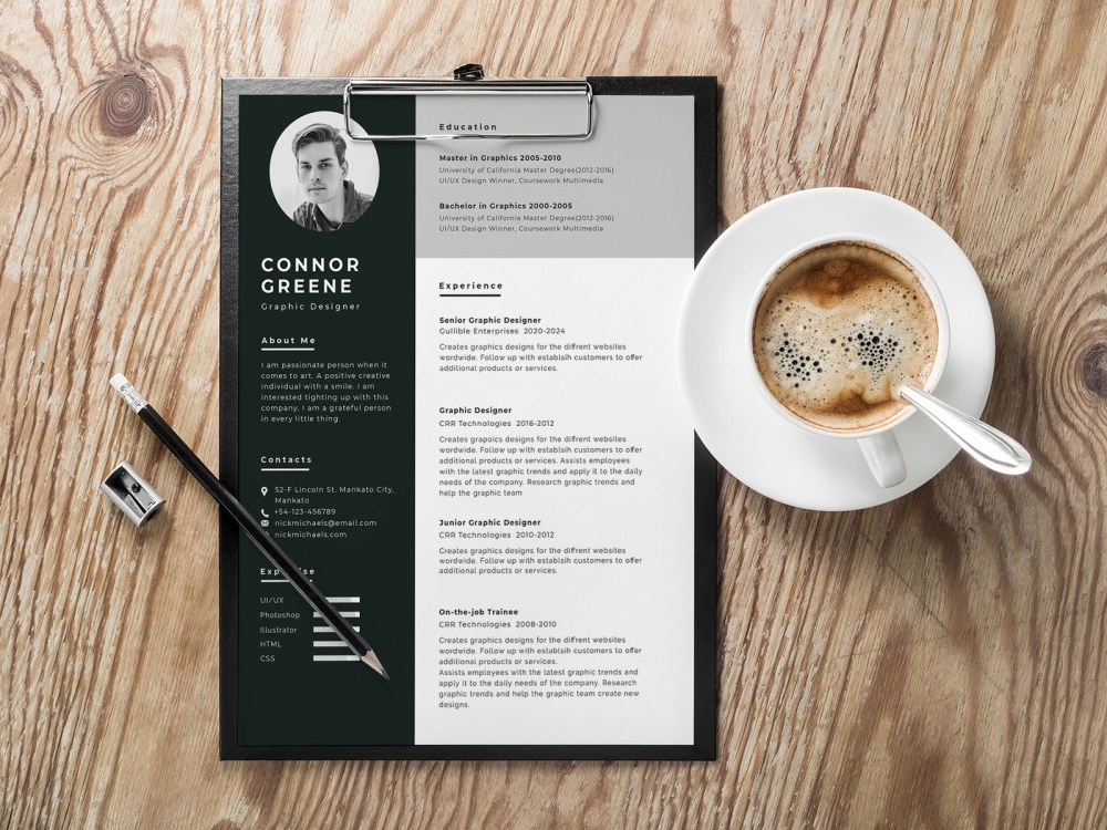 Apple Pages Resume Template Download from smashfreakz.com